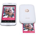 HP Sprocket Portable Bluetooth Photo Printer White