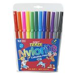 Texta Nylorite Colouring Pens 12 Pack