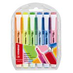 Stabilo Swing Cool Highlighters Assorted Colours 6 Pack