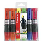 Stabilo Luminator XT Highlighters Assorted 6 Pack