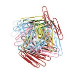 J.Burrows 50mm Paper Clips Assorted 200 Pack