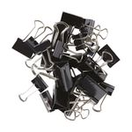 J.Burrows Assorted Size Foldback Clips 85 Pack