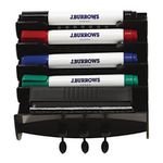 J.Burrows Marker Station with 4 Markers and 1 Eraser