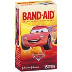 Band-Aid Plastic Strips Cars 15 Pack