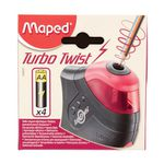 Maped Turbo Twist 1 Hole Sharpener Black