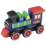 Melissa & Doug Wooden Craft Kit Train