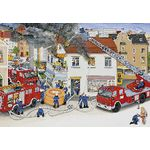 Ravensburger Busy Fire Brigade Puzzle 2 Pack