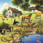 Ravensburger Forest, Zoo and Pets Puzzle 3 Pack