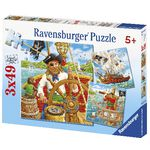 Ravensburger Pirate Puzzles 3 Pack