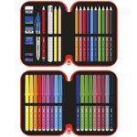 Milan Double Decker Pencil Case Set Superhero