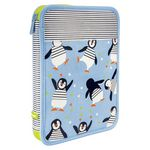 Milan Maxi Pencil Case Set Penguins