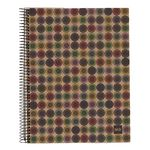 Miquelrius A4 Recycled Notebook 7mm Ruled Button 240 Page