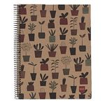 Miquelrius A4 Recycled Notebook 5mm Square Plant 240 Page