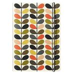Orla Kiely A5 Exercise Book 160 Page Multi Stem