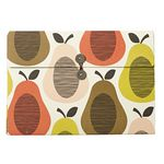 Orla Kiely A4 Document File Scribble Pear Multi