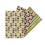 Orla Kiely A5 Pocketbook 3 Pack