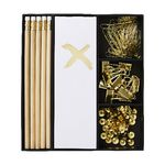 Otto Gold Cross Stationery Set with To Do List