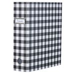 Otto Lever Arch Binder with Printed Spine Black