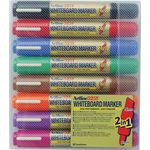 Artline 525T Dual Nib Whiteboard Markers Assorted 8 Pack
