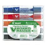 Pilot V Board Master Whiteboard Markers Assorted 5 Pack