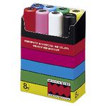 Uni POSCA PC-17K Paint Markers Assorted 8 Pack
