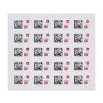 Priority 50c Postage Label 20 Pack