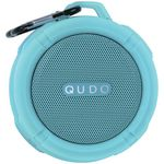 Qudo Splashproof Bluetooth Speaker Teal