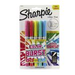 Sharpie Ultra Fine Permanent Markers Colour Burst 5 Pack