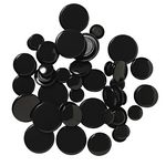 J.Burrows Magnets Black 50 Pack