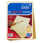Tudor Interoffice C4 Envelopes Kraft 50 Pack