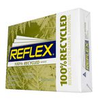 Reflex 100% Recycled 80gsm A4 Copy Paper 500 Sheet Ream