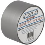 Stylus PVC Duct Tape 48mm x 30m Silver