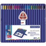 Staedtler Ergo Soft Aquarell Watercolour Pencils 24 Pack