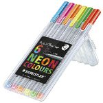 Staedtler Triplus Fineliner 334 Neon Colours 6 Pack
