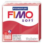Staedtler FIMO Soft Standard Block Cherry Red 57g