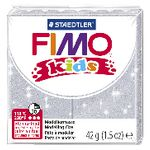 Staedtler FIMO Modelling Clay 42g Glitter Silver