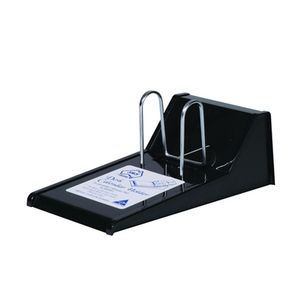 Desk Top Hole Calendar Stand Black