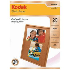 "Kodak 4 x 6"" Premium Glossy Photo Paper 180gsm 100 Pack"