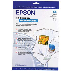 graphic about Printable Iron on Transfer identify Epson Iron Upon Go Paper 10 Pack