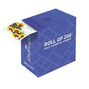 $1 Postage Stamps Roll of 200