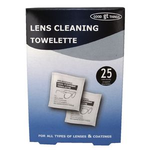 Good Things Lens Cleaning Towelette 25 Pack