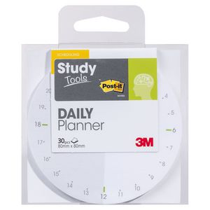 Post-it Study Tools 80 x 80mm Daily Planner