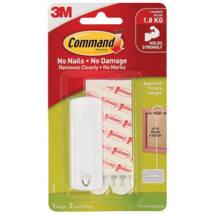 Command Sawtooth Picture Hanging Hook