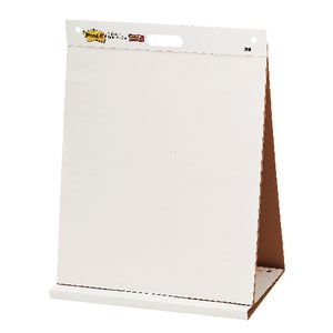 Post it self stick table top pad 508 x 584 mm officeworks