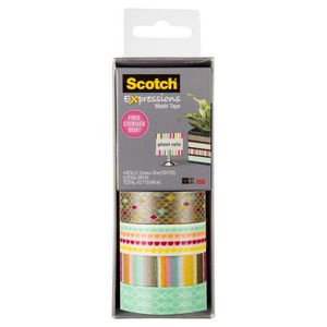 Scotch Expressions Washi Tape 4 Pack Diamond