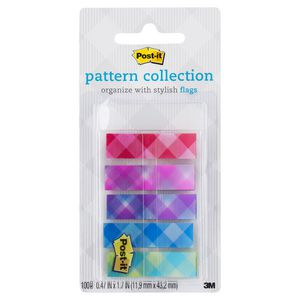 Post-it Pattern Collection Flags 12 x 43mm Flags 5 Pack