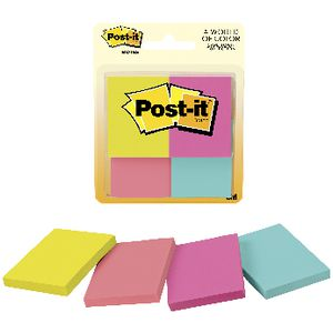 Post-it Notes 35mm x 48mm Capetown 4 Pack