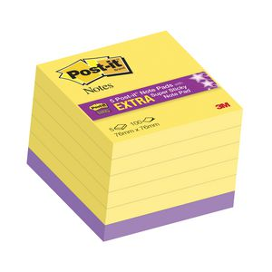 Post-it Notes 76 x 76 mm Yellow 5 Pack