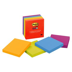 Post-it Super Sticky Notes 76 x 76mm Marrakesh 5 Pack