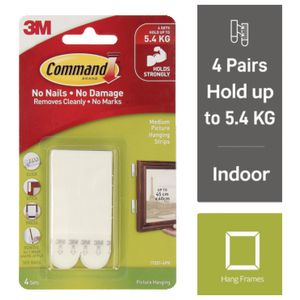 Command Picture Hanging Strips 4 Pack